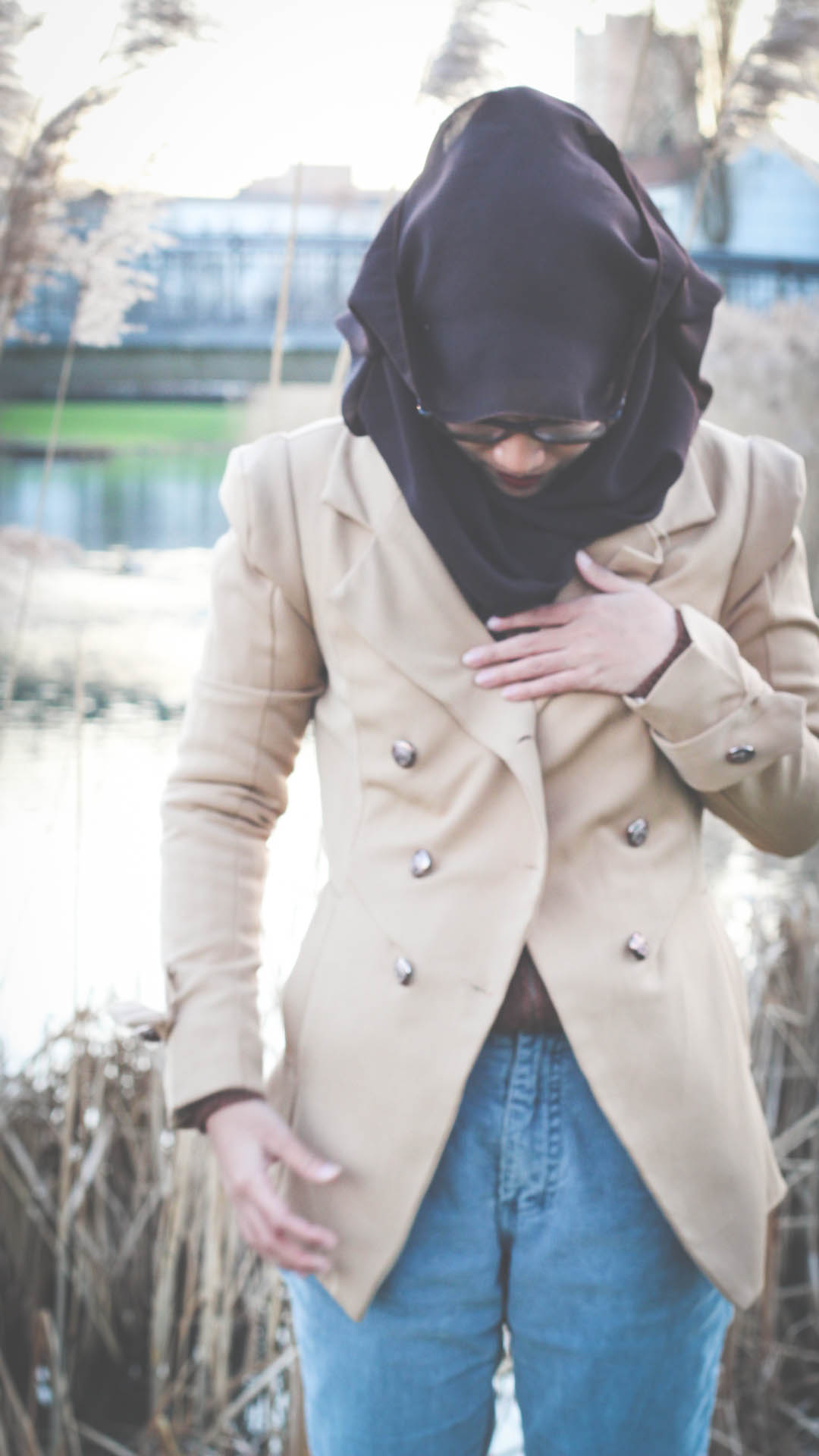 Trench, Trench coat, Trenchcoat, Hijab, Fashion, Fashion blogger, Style