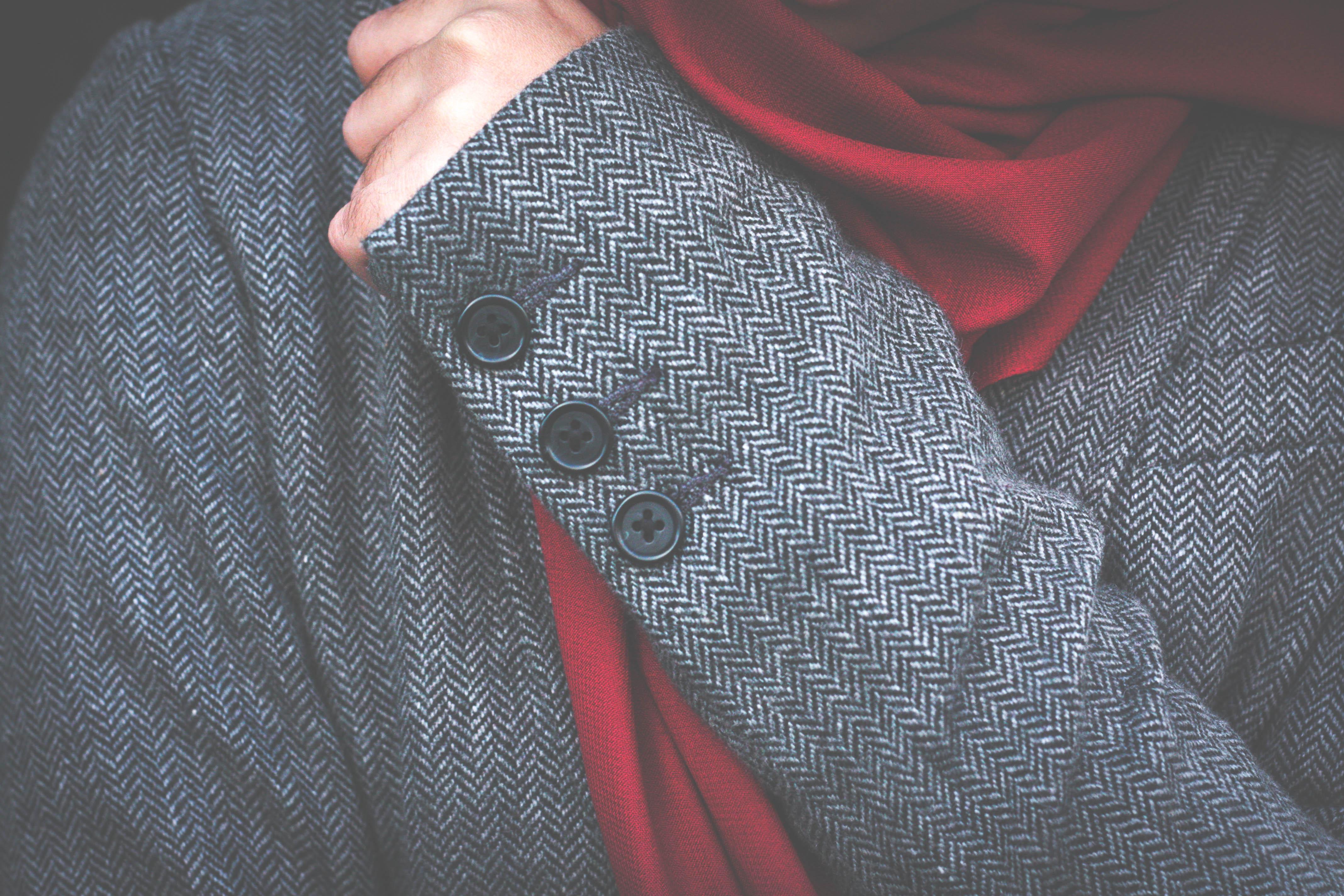 Tweed, hijab, jacket, blazer