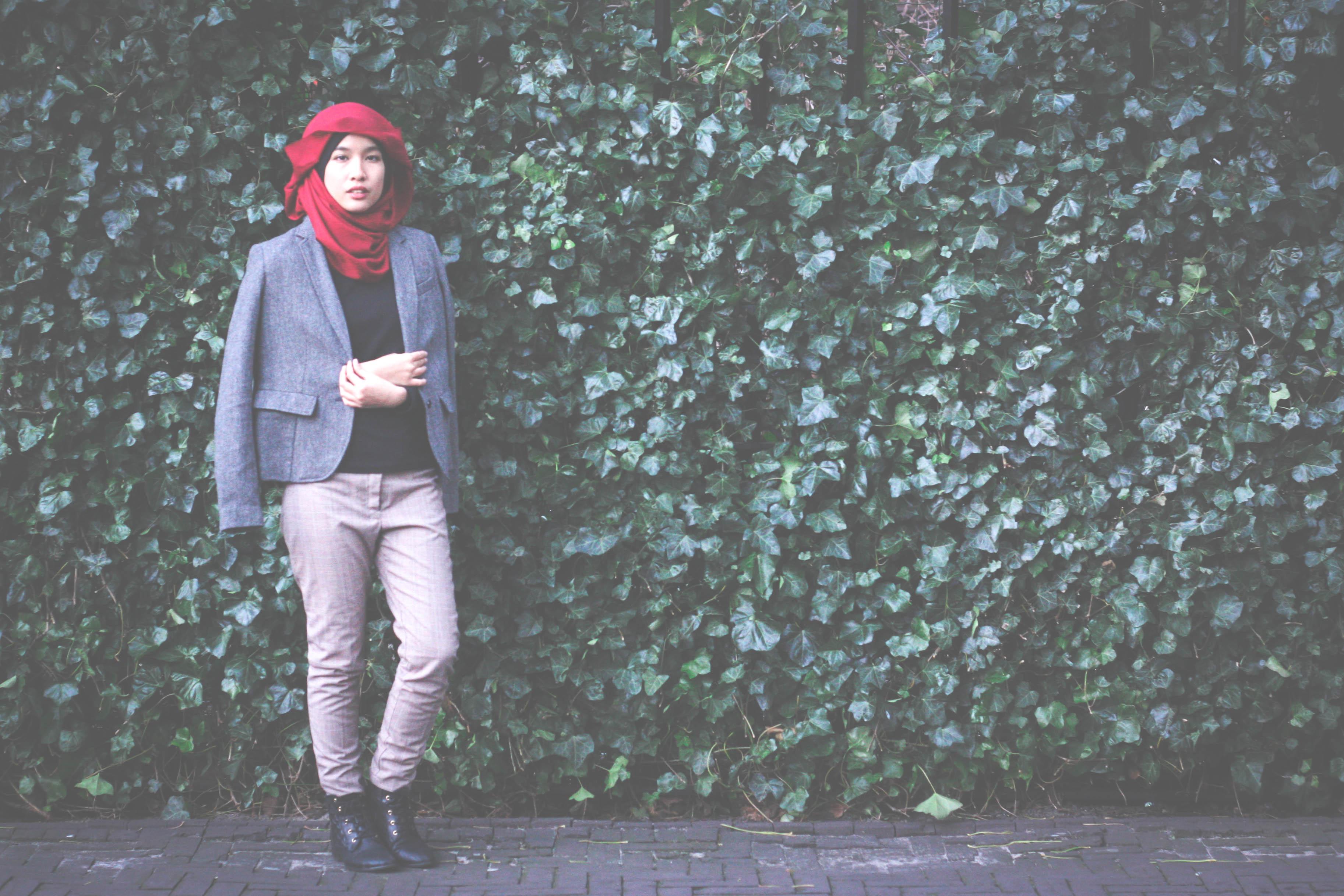 Fashion, style, blogger, fashion blogger, style blogger, hijab, hijab fashion, hijabi, tudung, tweed, winter